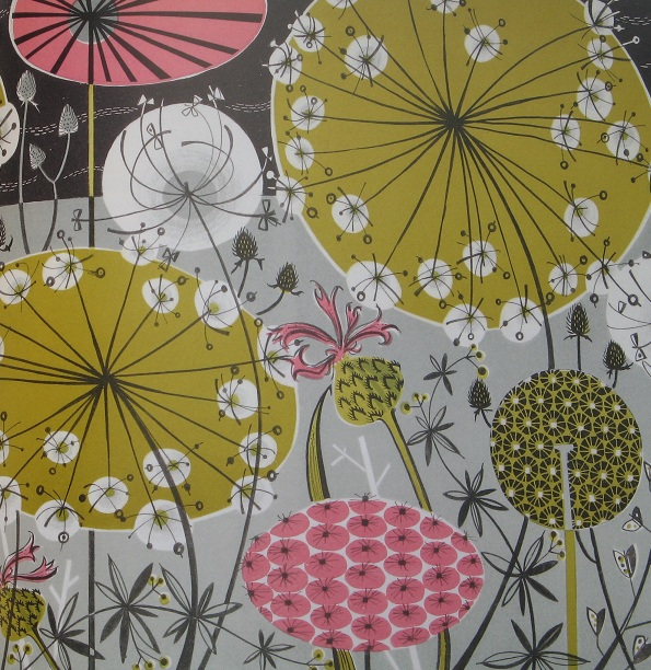 Flower garden paintings - Inspirational Books Plants And Places By Angie Lewin